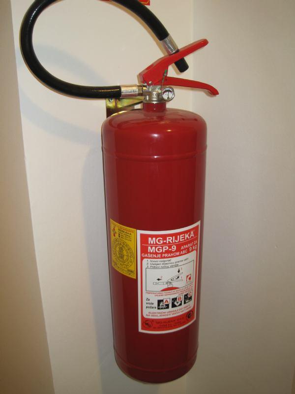 Poduzimanje mjera zaštite od požara u stambenim zgradama