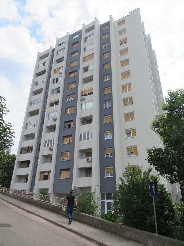 Završeni su radovi na energetskoj obnovi nebodera Braće Cetine 4 u Rijeci (Zamet)