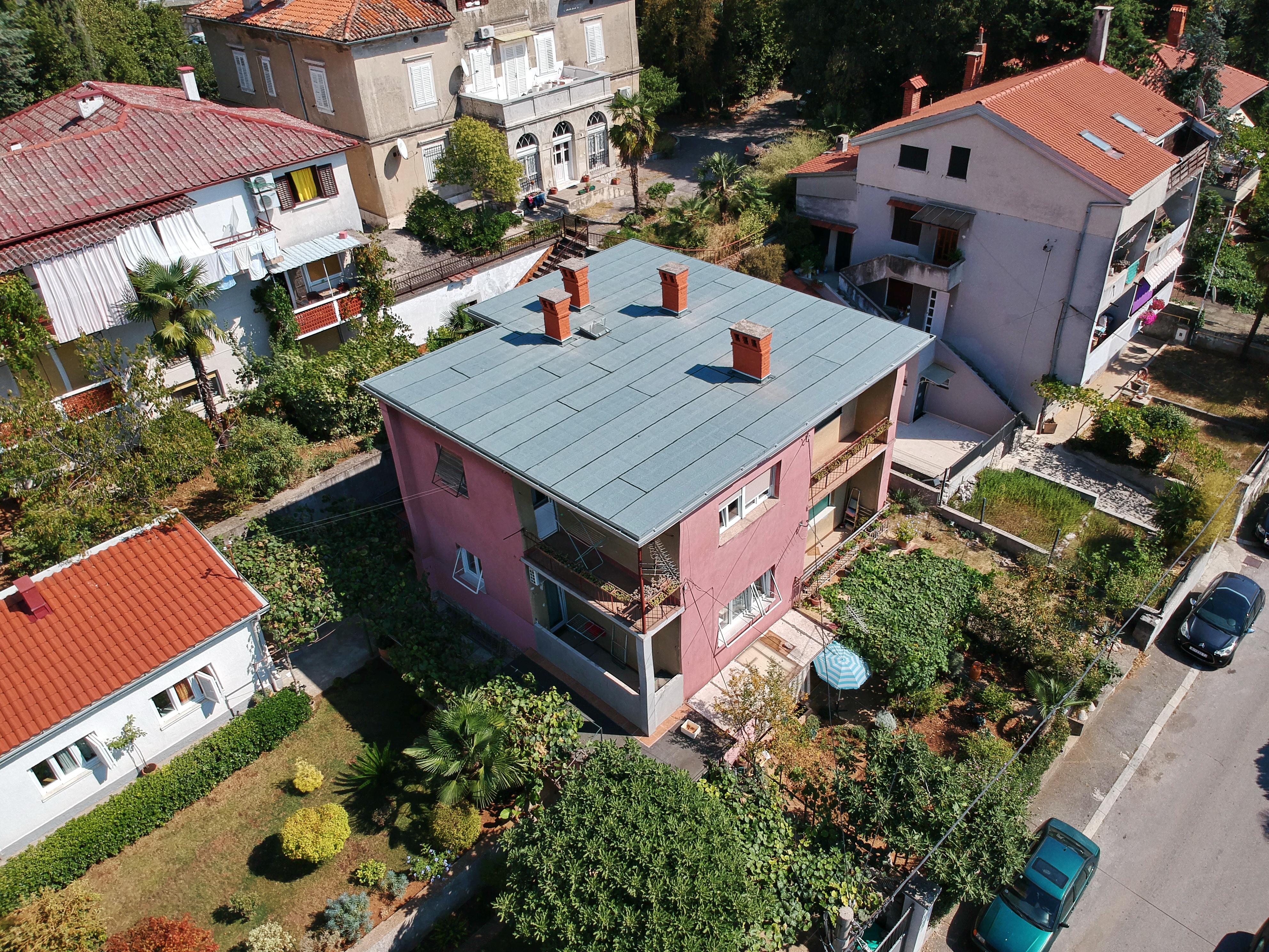 Završena je obnova krova na adresi Vitomira Širole Paje 6/1 u Rijeci (Mlaka)